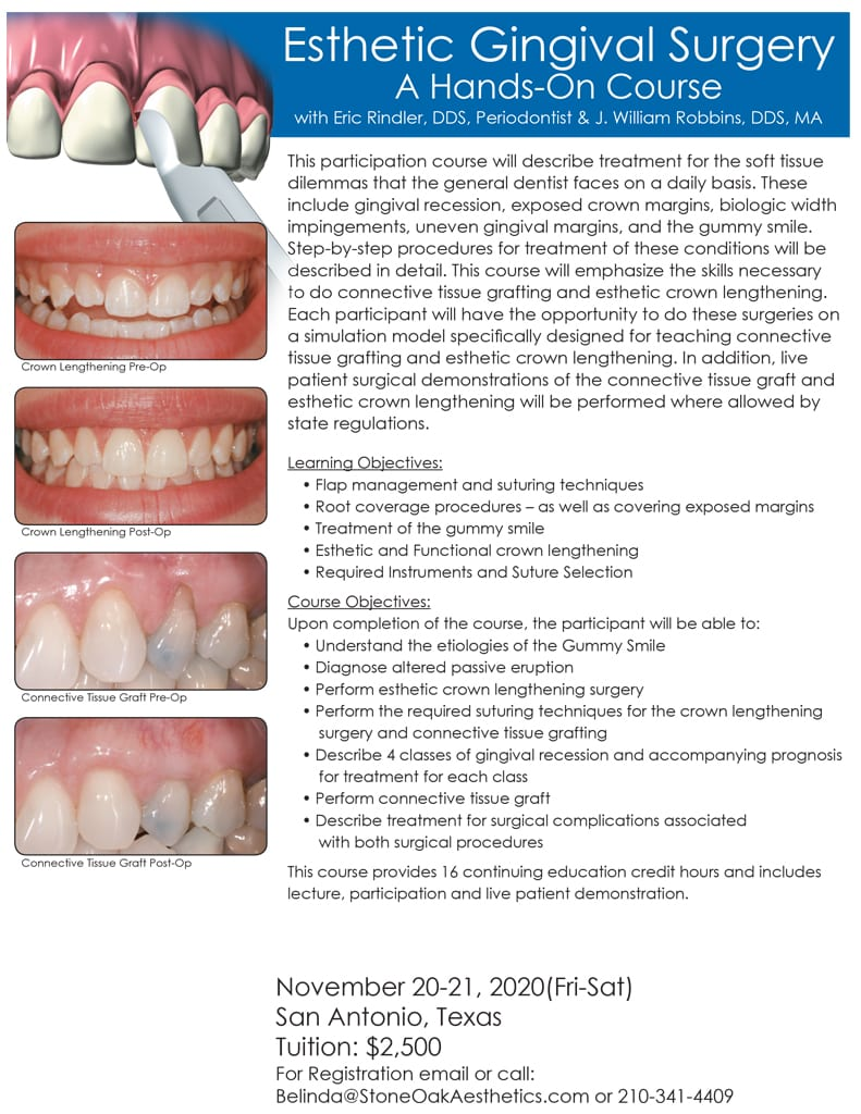 Esthetic Gingival Surgery